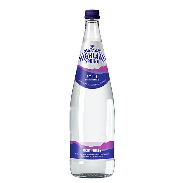 HIGHLAND STILL SPRING WATER GLASS  12x750ML