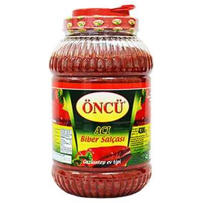 ONCU HOT ( ACI ) HOME PEPPER PASTE  1x4.3kg