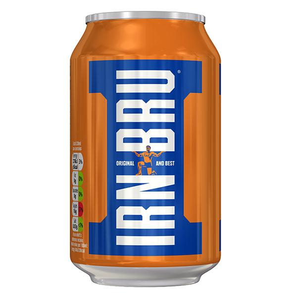 IRN BRU CANS 24 x330 ml