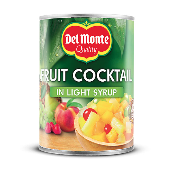 DEL MONTE FRUIT COCTAIL IN LIGHT SYRUP 1x227g