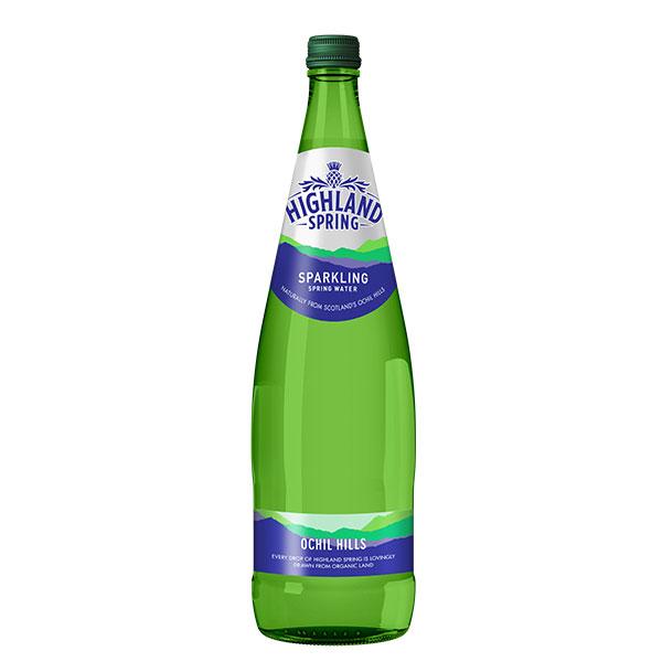 HIGHLAND SPARKLING WATER GLASS  12x750ml