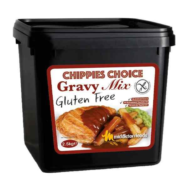 CHIPPIES CHOICE GLUTEN FREE GRAVY MIX 1x2.5kg