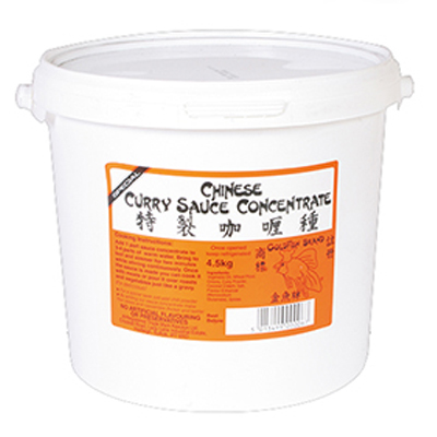 CHINESE CURRY SAUCE ( KEEJAYS )  1x4.5kg