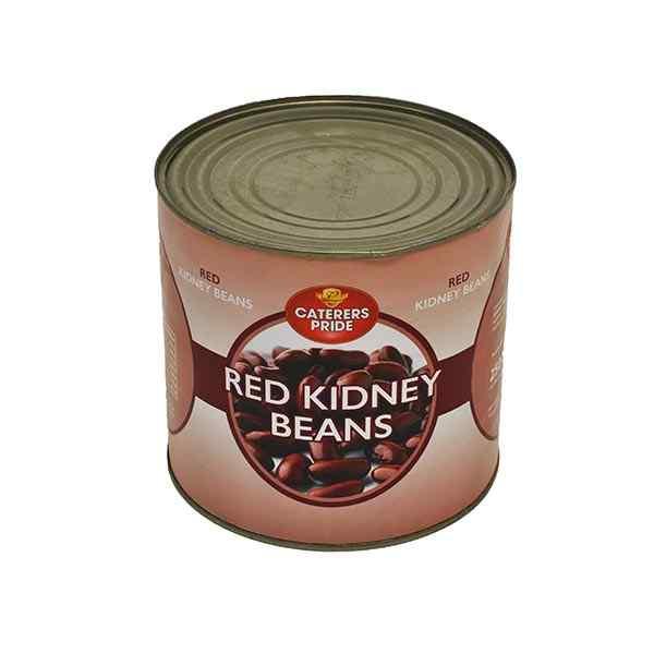 CATERERS PRIDE RED KIDNEY BEANS 6x2.5kg IN BRINE