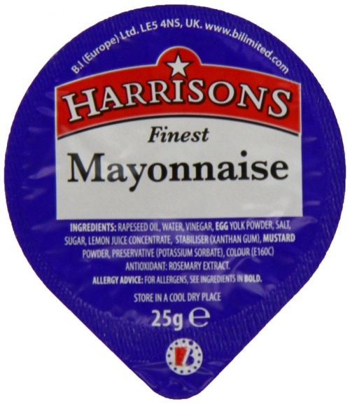 HARRISONS MAYONNAISE DIP POTS  100x25g