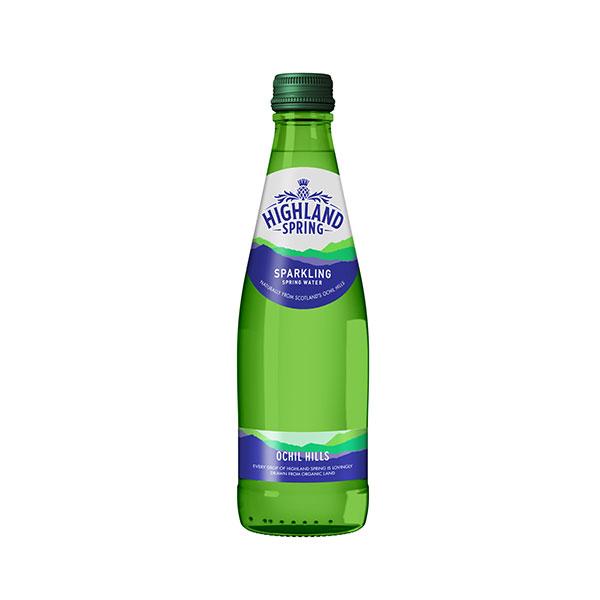 HIGHLAND WATER GLASS ( Spark )  24x330ml