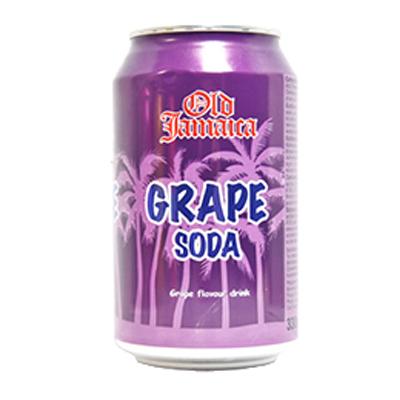 OLD JAMAICA GRAPE SODA CANS   24x330ml