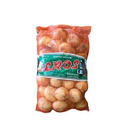 FRESH SPANISH ONIONS 20kg (CAL 100a+ +mm)