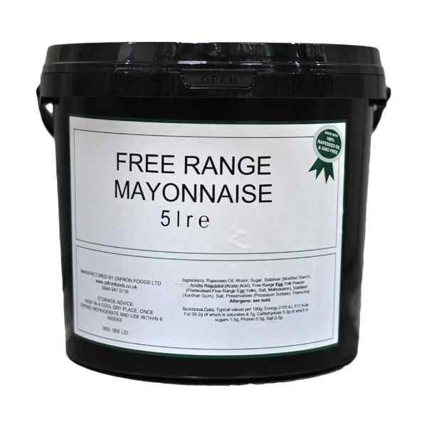 FREE RANGE SASCO BUCKET MAYONNAISE 5lt