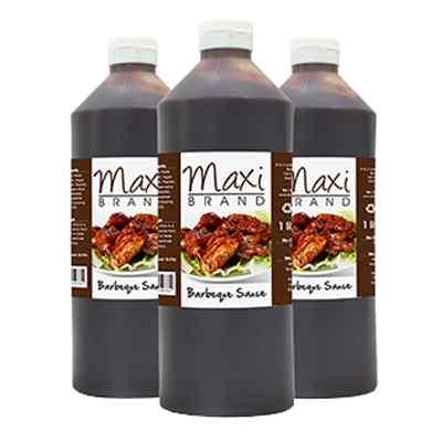 MAXI SQUEEZY BBQ SAUCE  6x1lt