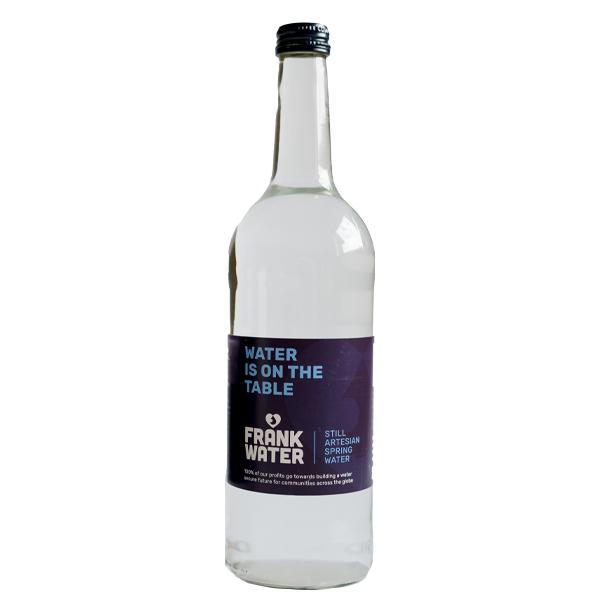 FRANK STILL GLASS BOTTLE WATER 12x750ml