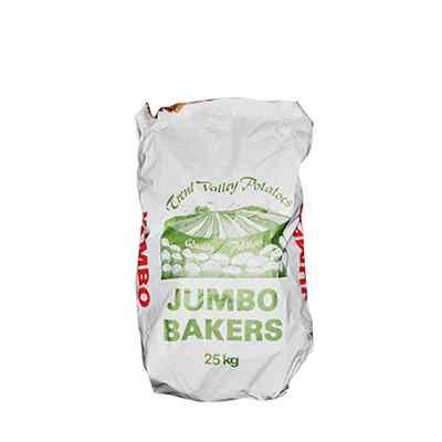 FRESH JUMBO POTATOES 20kg