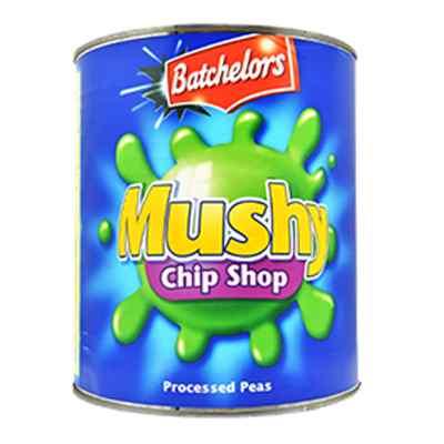 BATCHELOR'S MUSHY PEAS ( CHIP SHOP)  6x3kg