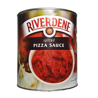 RIVERDENE PREMIUM SPICED PIZZA SAUCE  6x2.9kg