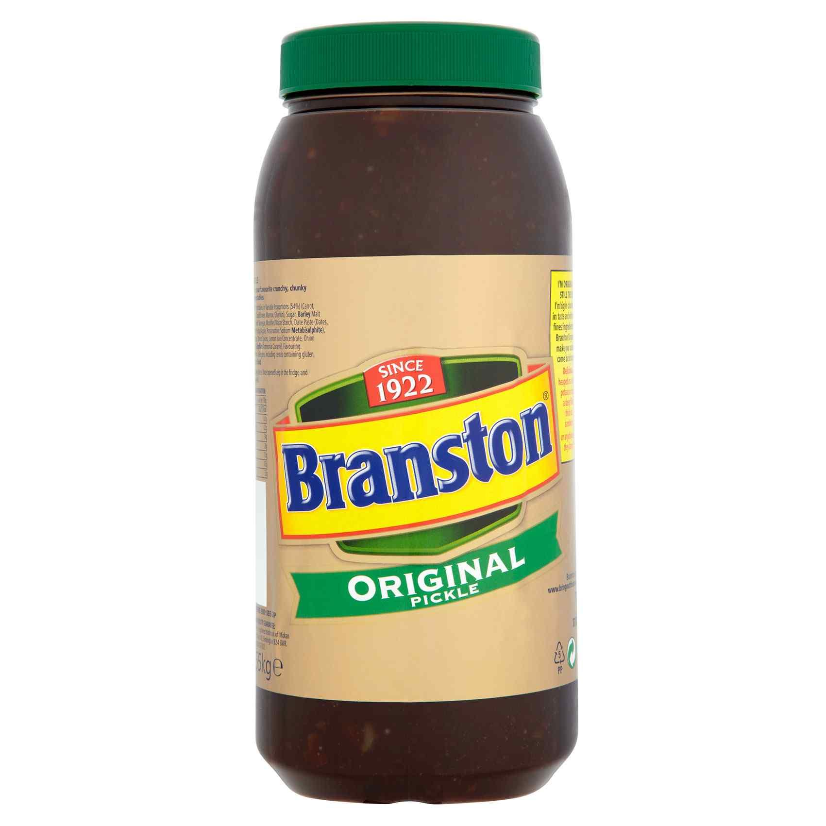 BRANSTON ORIGINAL PICKLE 2x2.55kg