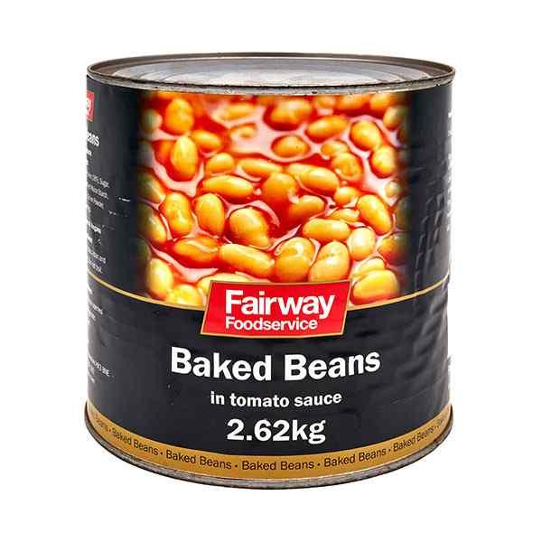 FAIRWAY BAKED BEANS  6x2.62kg