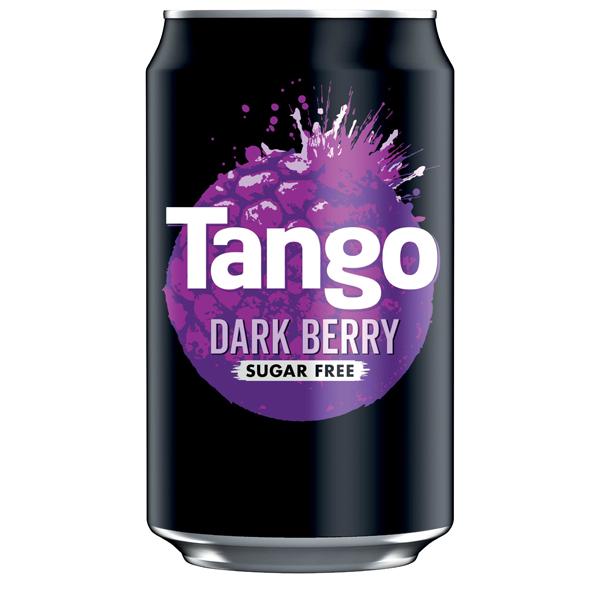 TANGO DARK BERRY SUGAR FREE CANS 24x330ml