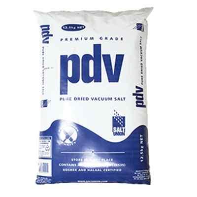 UK PURE DRIED VACUUM SALT  1x12.5kg