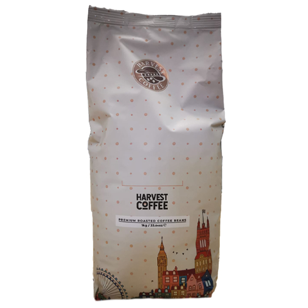 HARVEST PREMIUM ROASTED COFFEE BEANS 1 kg