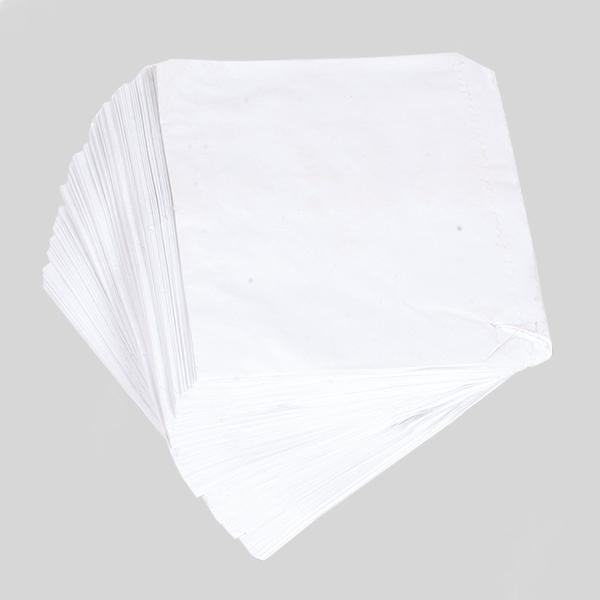 GREASEPROOF TAKEAWAY BAGS 5x5  1x1000