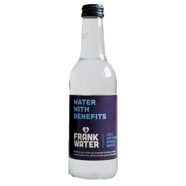 FRANK STILL GLASS BOTTLE WATER 24x330ml