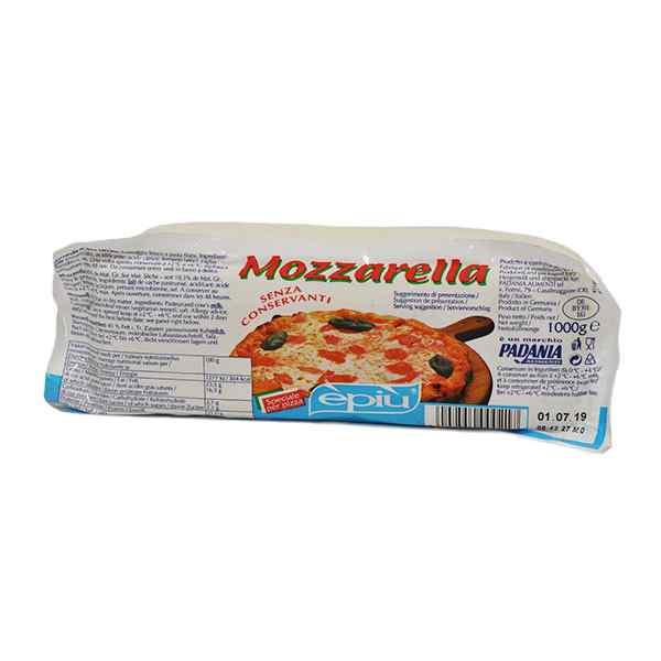 EPIU ITALIAN FRESH MOZZARELLA  1x1kg