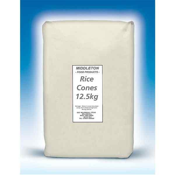 MIDDLETON  RICE CONES  1x12.5kg