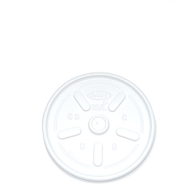 LIDS FOR 10oz HOT CUPS (10JLPF)  1x1000 WHT VENTED Suitable lids are GIA030 & GIA031