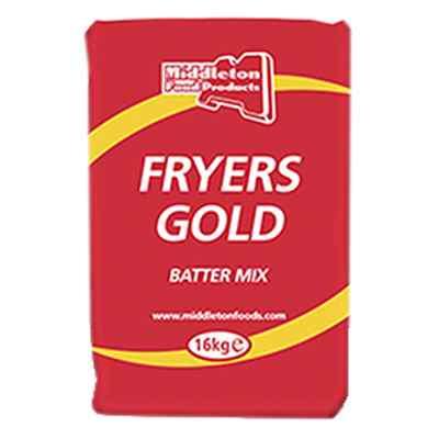 FRYERS GOLD BATTERMIX  1x16kg