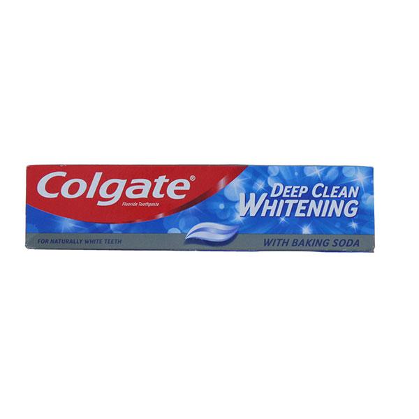 COLGATE 100ML TOOTHPASTE DEEP CLEAN WHITENING