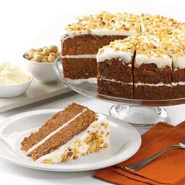 GLUTEN FREE CARROT CAKE SIDOLI 1.7kg 1x14pp