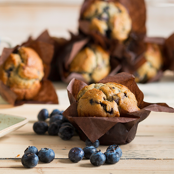 TULIP BLUEBERRY FILLED MUFFINS 4x6x110g KARA PRODUCT CODE : F02163