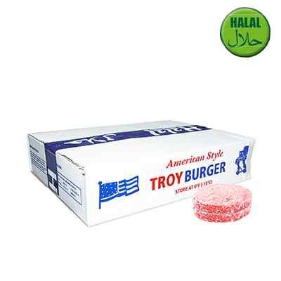 TROY HALAL QUARTER POUNDERS 80% 48x113g