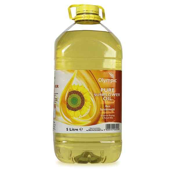 OLYMPIC SUNFLOWER OIL PET 5lt KTC