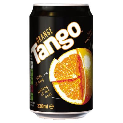 TANGO ORANGE CANS (GB)  24x330ml