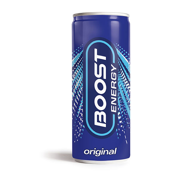 BOOST ENERGY CANS 24x250ml