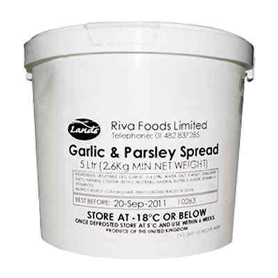 GARLIC & PARSLEY SPREAD  1x5lt/ 2kg