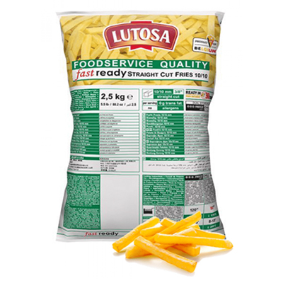LUTOSA STRAIGHTCUT FRIES 3/8 10mm 4x2.5kg