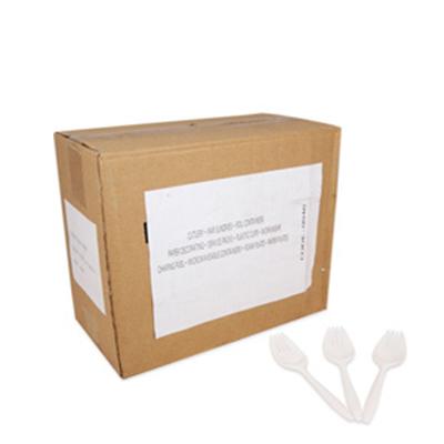 PLASTIC SPORKS / SALAD FORKS  1x1000