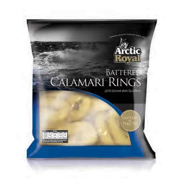 BATTERED ( SQUID RINGS ) CALAMARI 500g *bag* PESCATRADE BRAND