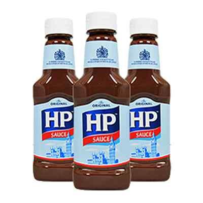 HP BROWN SAUCE OPAQUE 8 x 285 g