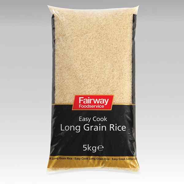 FAIRWAY EASY COOK LONG GRAIN RICE  1x5kg