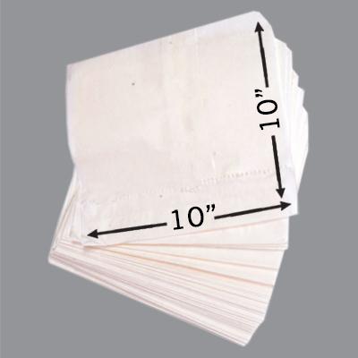 GREASEPROOF TAKEAWAY BAGS 10x10  1x1000