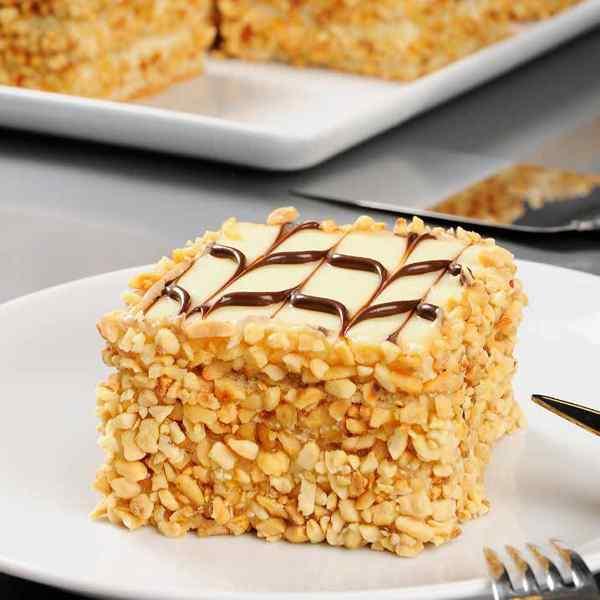ENDO'S MONO LATTE CAKE  PRE SLICED 9x165gm