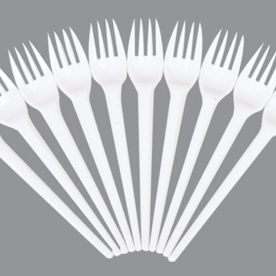 CARIZMA PLASTIC WHITE FORKS 1x1000
