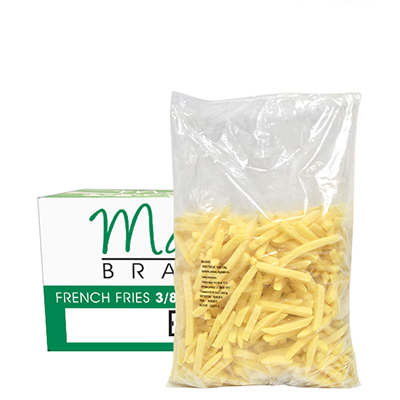 MAXI FRENCH FRIES 10MM ( 3/8 CHIPS )  4x2.5kg
