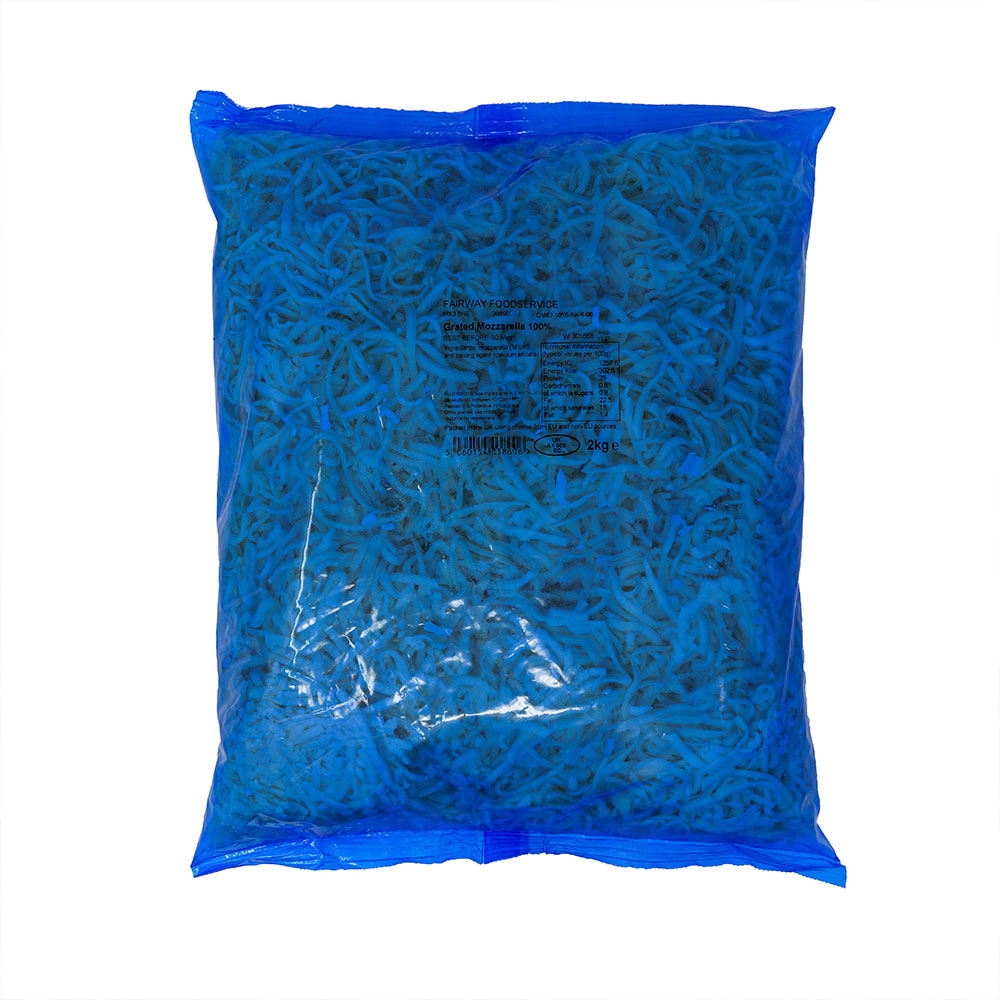 FAIRWAY ( ARLA ) GRATED MOZZARELLA 100%  2kg ARLA