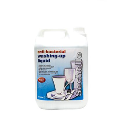 SECHELLE ANTI- BACTERIAL WASH UP LIQUID 4x5lt
