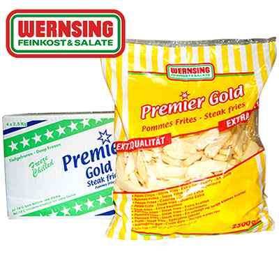 PREMIER GOLD STEAK CHIPS  4x2.5kg