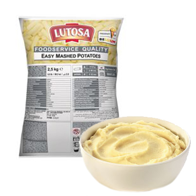 LUTOSA MASHED POTATO DISCS 2.5kg **BAG*